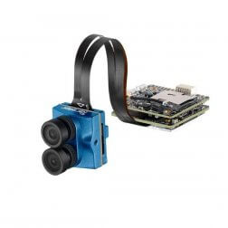 Caddx Tarsier V2 Micro 4K/30FPS Dual Lens WIFI - Blau