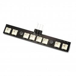 Matek WS2812B RGB LED Board mit MCU Steuereinheit 5V