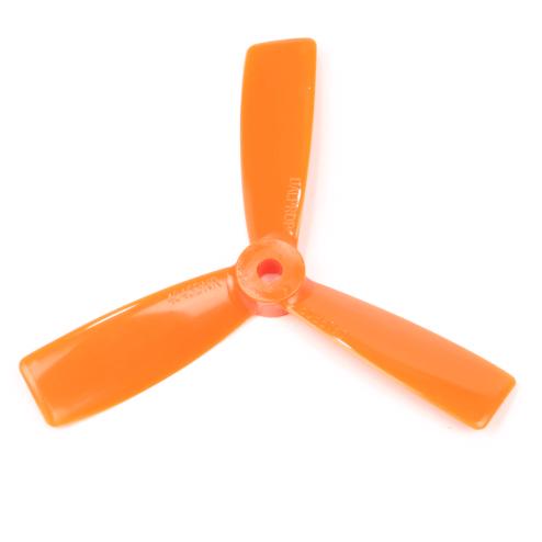 Dalprop Propeller 4 Zoll 4045 Dreiblatt Bullnose orange 4 Stk.
