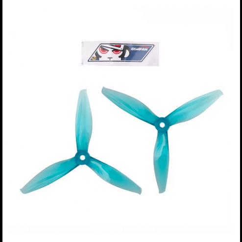 Gemfan Flash 5144 Dreiblatt Propeller - Blau (4 Stk.)