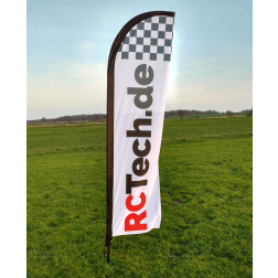 Beach Flag für Racetrack - RCTech.de
