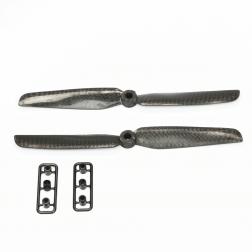 2 x Propeller 5 Zoll 6030 Carbon - Gemfan
