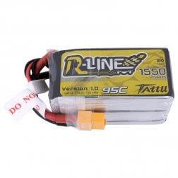Tattu R-Line LiPo Akku 5S 1550 mAh 95C
