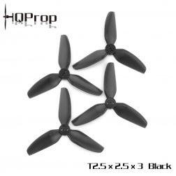 HQProp Durable T 2535 Dreiblatt Schwarz T2.5X3.5X3LB-PC (4 Stk.)