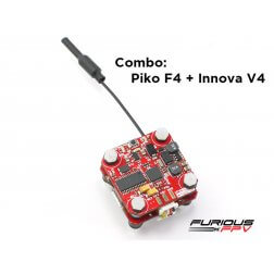 Furious FPV INNOVA V4 and PIKO F4 Combo