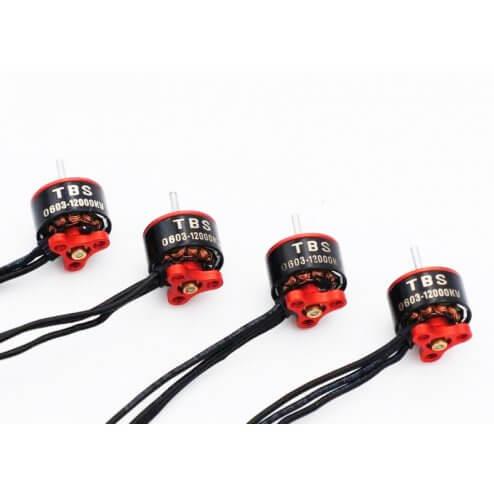 TBS Micro Brushless 0603 Motor Set 12000kv (4 Stk.)