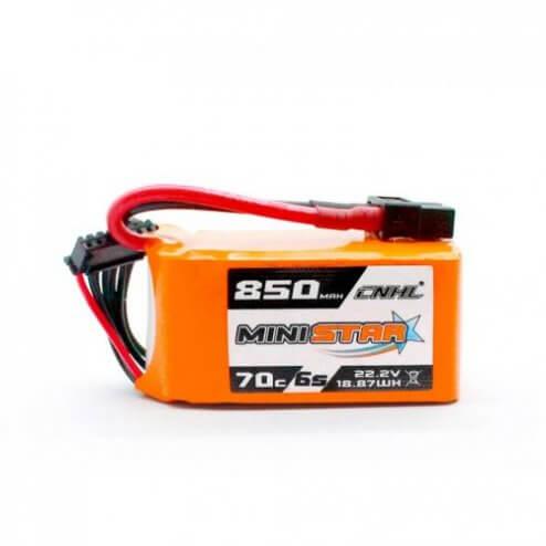 CNHL Mini Star 6S 850 mAh 70C LiPo Akku