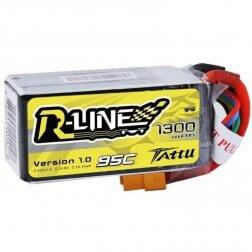 Tattu R-Line LiPo Akku 4S 1300 mAh 95C
