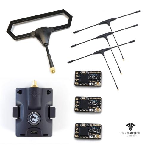 TBS Crossfire Micro Starter Set (3 Empfänger)