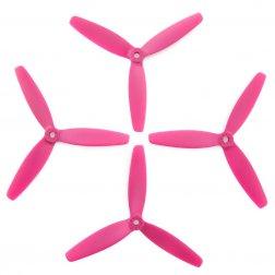 Lumenier 5040 5x4x3 Dreiblatt Propeller pink (4 Stück)