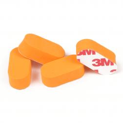 Neoprene Landing Pads (4 Stk.) RCTech Orange