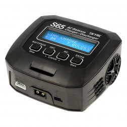 SkyRC S65 AC Ladegerät LiPo 2-4s 6A 65W