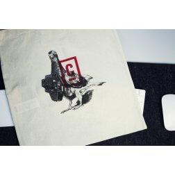 Cooper Copter Organic Shopping Bag - Bird
